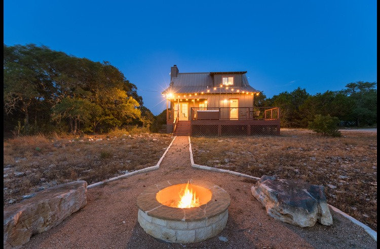 A relaxing spot to soak up the Hill Country scenery year 'round!